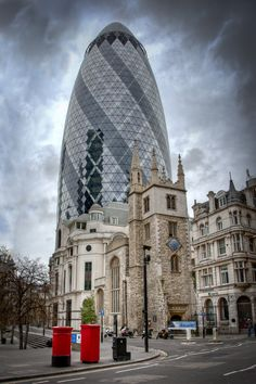 The Gherkin London by Donald Davis, via 500px