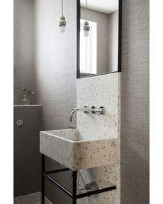 "72 Likes, 6 Comments - Alexandra Kidd Design (@alexandrakidd) on Instagram: ""Terrazzo is having a major moment! Love this vanity design by Stockholm-based designer…"""