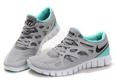Nike Free Run+ 2 Men Waterproof Gray Aqua