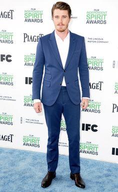 Garrett Hedlund from 2014 Film Independent Spirit Awards: Red Carpet Arrivals | E! Online