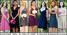 Infinity Bridesmaid Dress  Versatile Convertible by thejerseymaid, $83.00