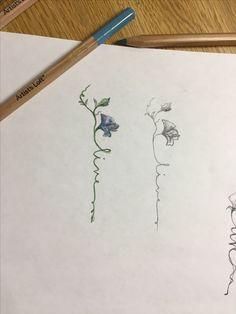 Sweet Pea Tattoo Designs - Sweet Pea Flower Tattoo Design Best Of Tattoooooooo Images on Sweet Pea Flower Aster Tattoo, Violet Flower Tattoos, Name Flower Tattoo, Delicate Flower Tattoo, Violet Tattoo, Small Flower Tattoos, Flower Tattoo Designs, Small Tattoos, Tattoo Flowers
