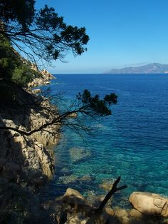 Ficaghjola /by myope layer #flickr #corsica #sea #shore