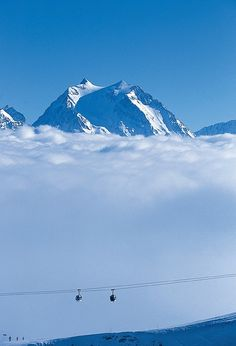 Skiing...Courchevel.   That looks so amazing.