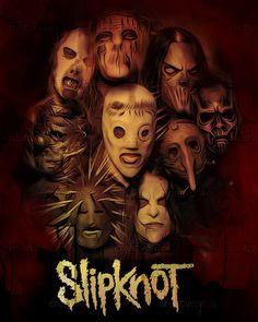 Slipknot by sabercore23