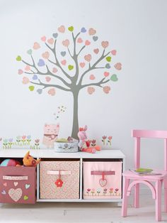 Looking for girls bedroom ideas? A girls' bedroom needs to be a flexible space, accommodating their changing needs from babyhood through to teenage years Baby Decor, Kids Decor, Girl Nursery, Girls Bedroom, Themed Nursery, Bedroom Ideas, Little Girl Rooms, Little Girls, Room Deco
