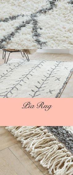 Pia Rug - Berber Carpet, Room Decor, Rugs, Decoration, Sink, Dekoration, Home Decor, Carpets, Decorating