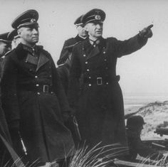 Erwin Rommel & Siegfried Macholz