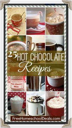 25 Homemade Hot Chocolate Recipes!