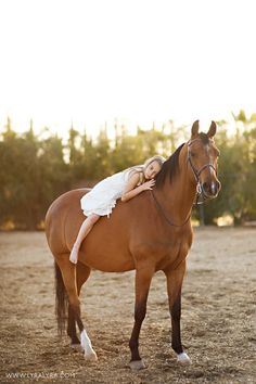 the bond between a child and a horse is magical<3