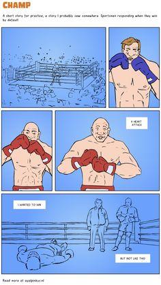 Champ - a comic by Ayal Pinkus