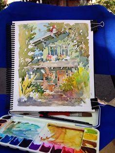 Brenda Swenson: The Perils & Pleasures of Plein Air Painting
