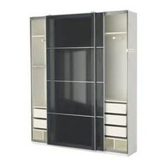 wardrobe charcoal grey with cream interior - Ecosia