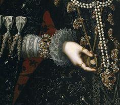 1598 Isabel Clara Eugenia by Juan Pantoja de la Cruz (Colección Real/Prado)