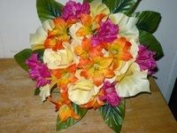 Don't Be Afraid of Color - Silk Wedding Flowers For Less!