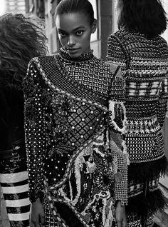 Harper's Bazaar UK / ARM IN ARM  photo: me   models: Agnes Nieske Abma & Mila Ganame & Alexis Jaye Sundman  styling: Charlie Charrington   make-up: Ariel Yeh  hair: Paul Donovan  production: Shiny Projects  retouch: Karolina Koza-Marasek