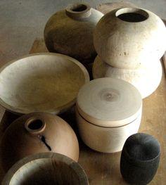 wood vessels by Josh Vogel of Blackcreek Mercantile & Trading Co.
