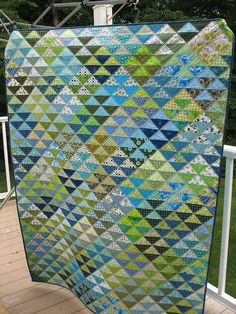 HST Overload Quilt ~ a Red Pepper Quilts Pattern (by Karen)