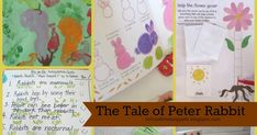 Five In A Row Activities: The Tale of Peter Rabbit