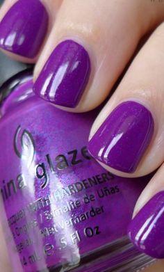 I love purple,it looks so nice.
