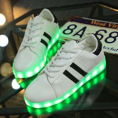 Capable Fashion Led Shoes Glowing Sneakers With Light Sole Led Slippers Luminous Sneakers Shoes Do Infantil Basket Femme Boys Kids 40 Sneakers Children's Shoes