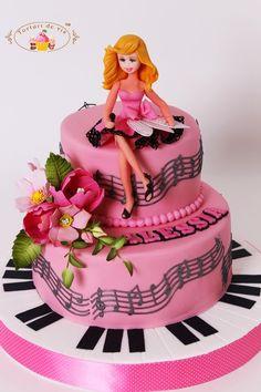 Torturi - Viorica's cakes: Tort aniversar pentru Alessia