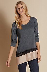 Cathy Lace Tee