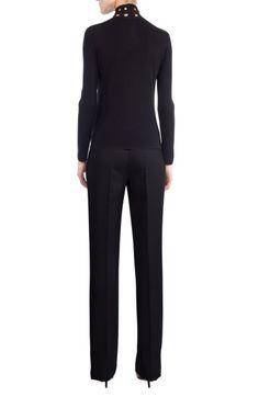 Main Image - Akris St. Gallen Cutout Cashmere & Silk Turtleneck Sweater us$995 Nordstrom oct'17