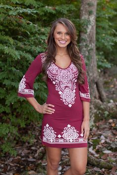 The Pink Lily Boutique - Lasting Impressions Maroon, $38.00 (http://www.thepinklilyboutique.com/lasting-impressions-maroon/)