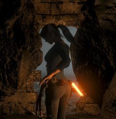 Steam Community: Rise of the Tomb Raider. Stuck between a rock and a hard place. Tomb Raider Lara Croft, Tomb Raider Game, Tomb Raider Comics, Resident Evil Girl, Laura Croft, Nature Iphone Wallpaper, Rise Of The Tomb, Video Games Girls, Mileena