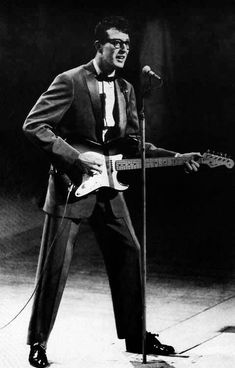 Buddy Holly - Rave On, Now We're One, Brown Eyed Handsome Man, Bo Diddley