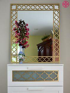 O'verlays decorative fretwork panels