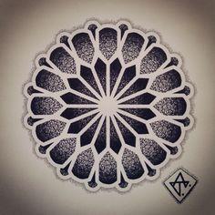 ideas tattoo geometric mandala for 2019 Dotwork Tattoo Mandala, Geometric Mandala Tattoo, Mandala Sleeve, Geometric Tattoo Design, Mandala Dots, Geometric Designs, Mandala Drawing, Tattoo Abstract, Dot Tattoos