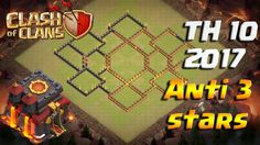 Clash of Clans TH 10 2017 WAR BASE База ТХ 10 для КВ www.clasherlab.com Visit For Website For Laster Clash of clans Content and Updates ! #Clasherlab
