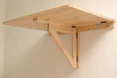 IKEA's wall-mounted drop leaf folding table
