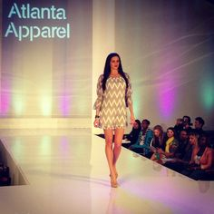 2tee Couture Chevron Dress on the Runway
