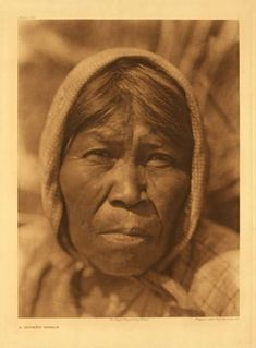 American Indians : Cupeno Woman.