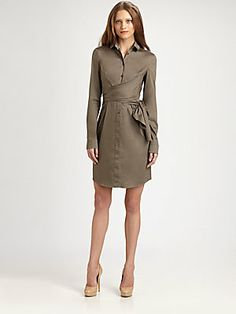 Akris Punto Waist Wrap Dress at Saks Fifth Avenue $846CDN .. Mar 2013