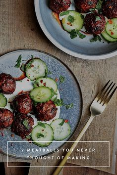 7 Meatballs You Never Thought of Making via @PureWow