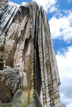 Cascadas petrificadas en Oaxaca