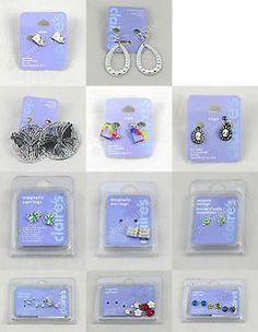 I like these magnetic earrings from Claires !!!