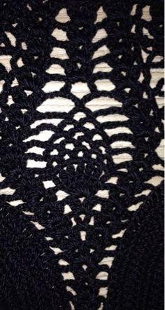 """Croche - Fazendo um novo """"CROPPED"""" ..."""