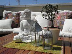 Enamorada de la terraza de Cintabe