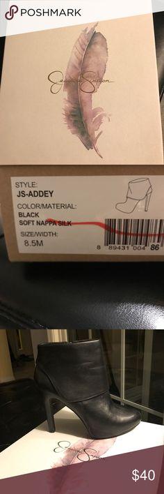 Black Jessica Simpson shoes Black Jessica Simpson boots Jessica Simpson Shoes Ankle Boots & Booties