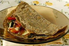 French Buckwheat Crepe Recipe - Galette de Sarrasin ou galette de blé noir (great with gruyere cheese). Naturally gluten-free!