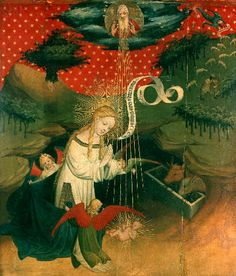 Meister Francke - The Birth of Christ - Fine Arts Reproduction, individual art card order now at low prices!