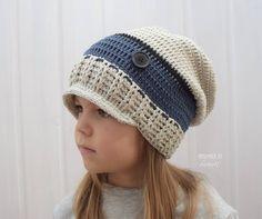 Detské čiapky - Prechodná homeless so šiltom ...