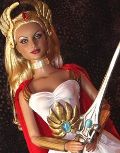 OOAK She-Ra Princess of Power Doll by ~ShannonCraven on deviantART
