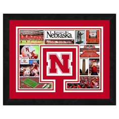 "Nebraska Cornhuskers 13"" x 16"" Milestones & Memories Framed Logo Mat - $39.99"