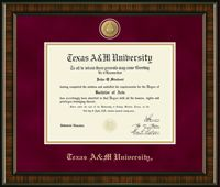 Texas A & M University Diploma Frame is available at College Depot. College Depot's inventory has about 55% #AmericaMade products.